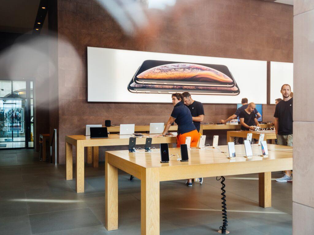 Forhandler af Apple produkter