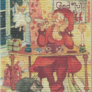 Disktrasa med motiv av Rimverkstan Birgitta Linderholm