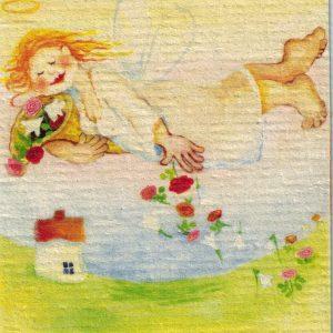 Disktrasa med motiv av Maj Birgitta Lindeblad