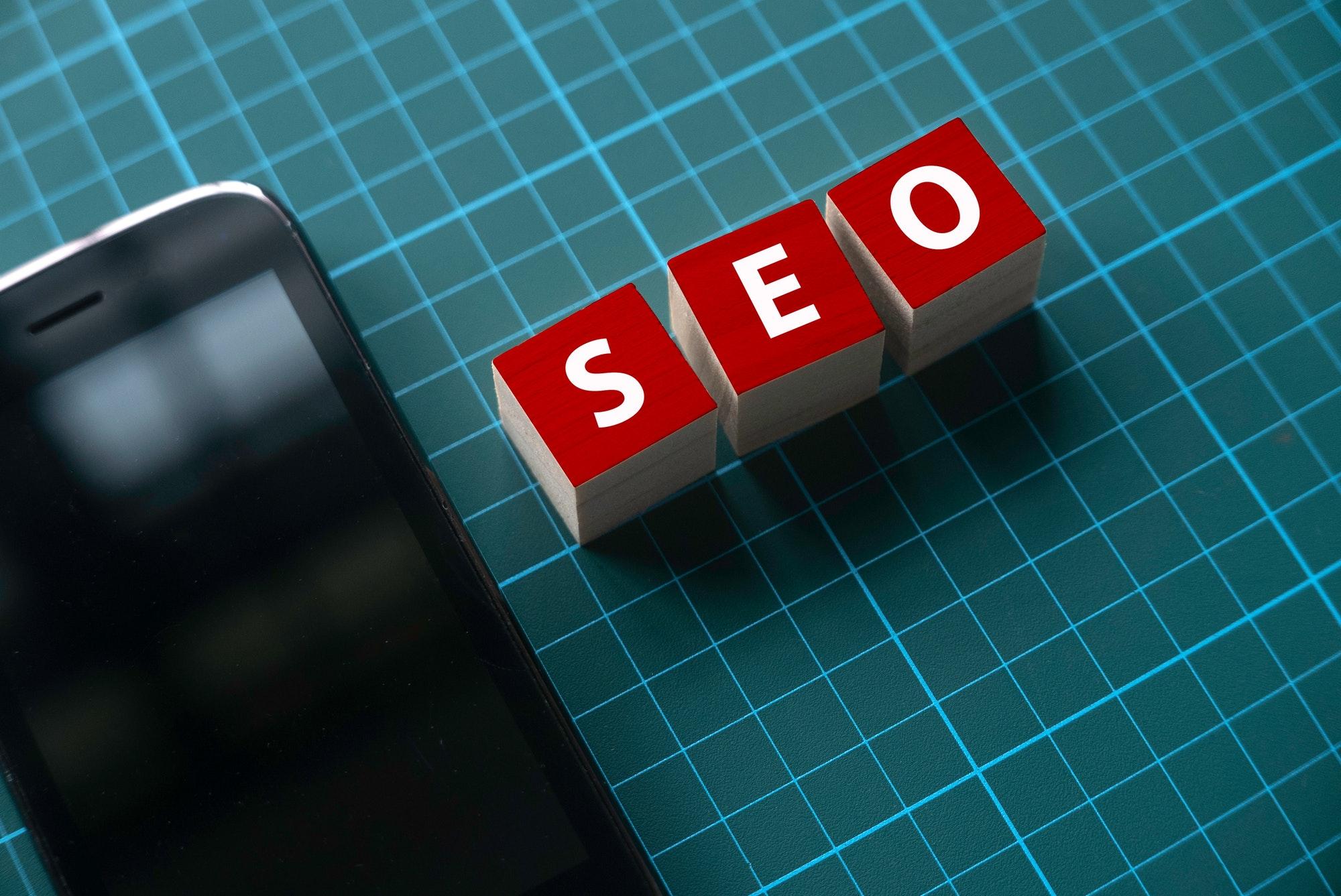 Search engine optimization (SEO) concept.