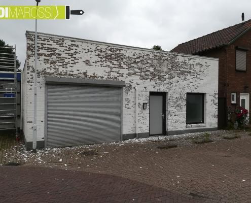 Schilderwerk Buiten - Muur voor - DiMarossi Schilderwerken