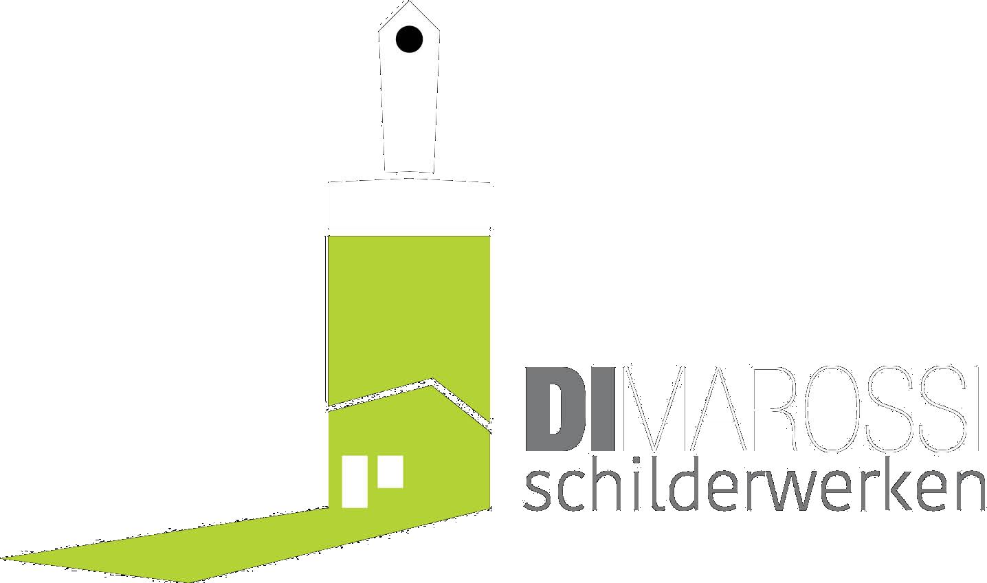 Logo wit - DiMarossi Schilderwerken