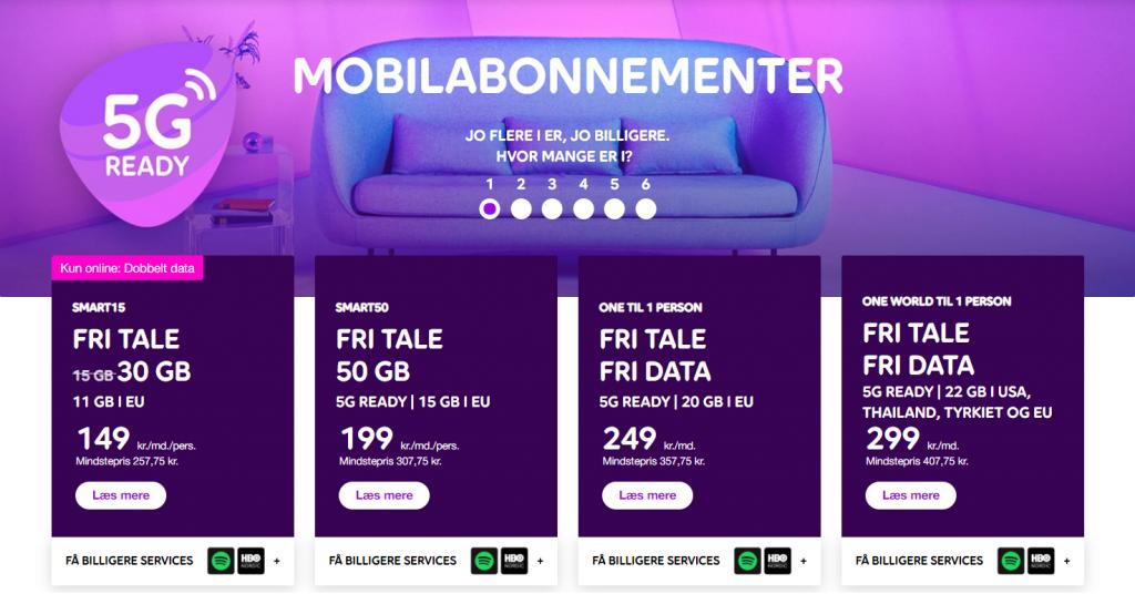 Telia mobilabonnement Spotify
