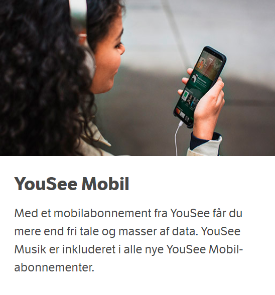 Yousee mobil - Yousee Musik