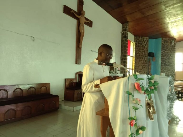 Fr. Evans Shang, Recollection talk kumbo