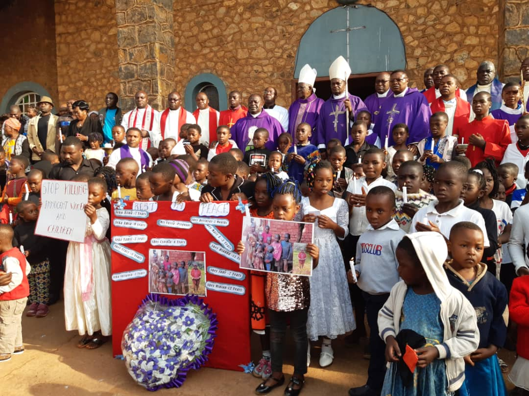 KUMBO DIOCESE MOURNS THE DEAD OF THE NGARBUH MASSACRE