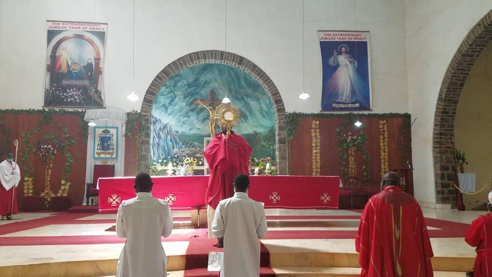 BISHOP NKUO URGES CHARISMATICS TO BE PRAYER WARRIORS