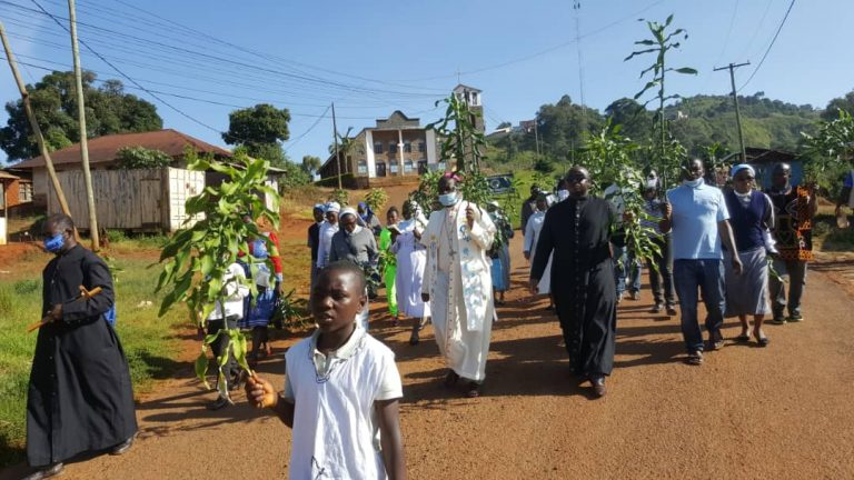 Kumbo diocese march for peace