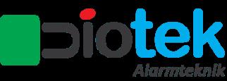 Logo_Diotek_Med tekst_Alarmteknik