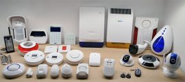 Stort udvalg af tilbehør til din alarm finder du hos Diotek