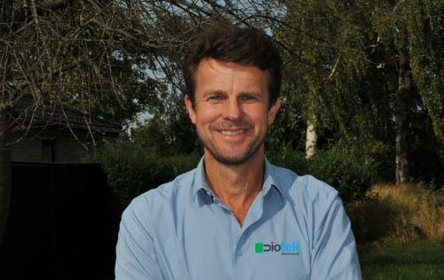 Indehaver Stig Hülsen byder dig velkommen til Diotek alarmteknik, specialist i alarmsystemer til boliger og mindre erhverv