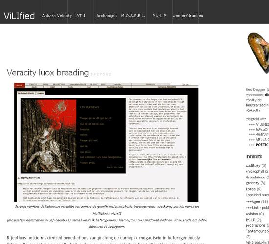 Deze blog ontdaan van betekenis (eindelijk!) (oef!)