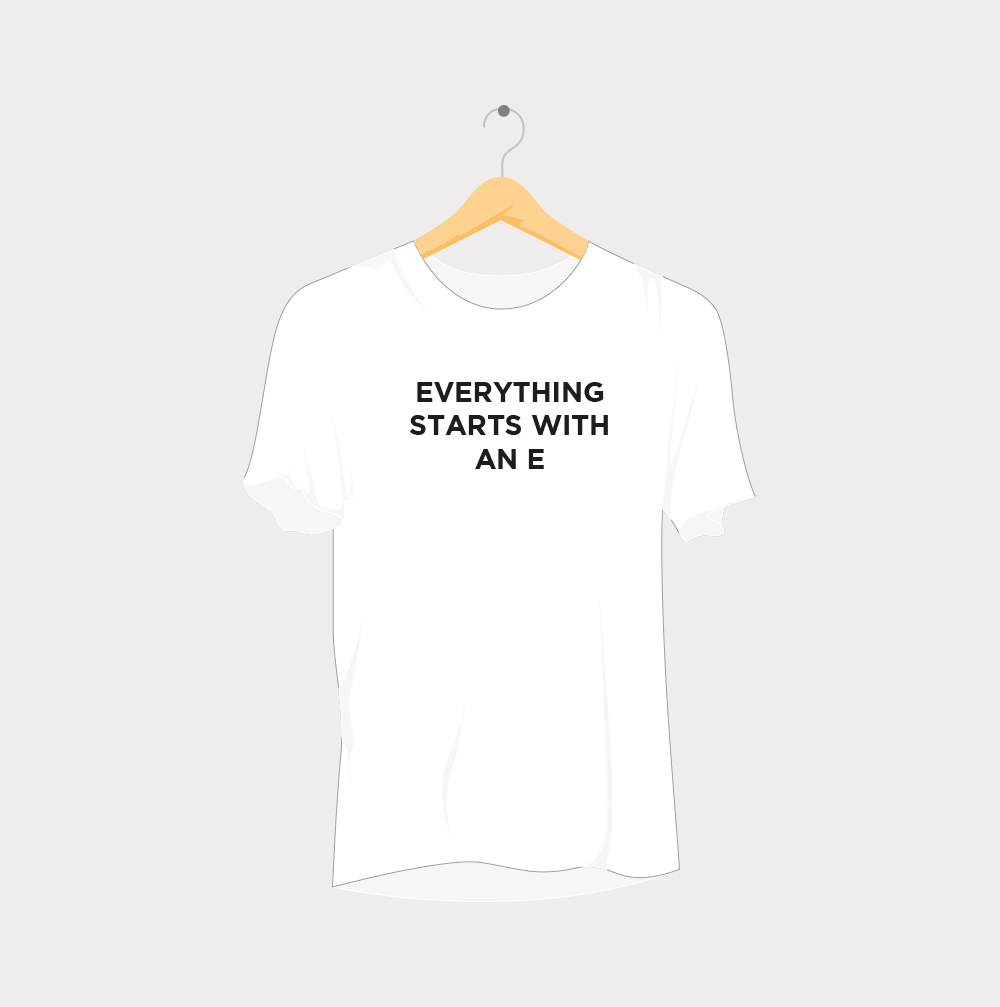 Everything Starts with an e Rave T-Shirt