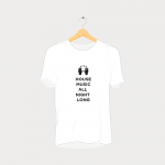 House Music All Night Long Hands Rave T-Shirt