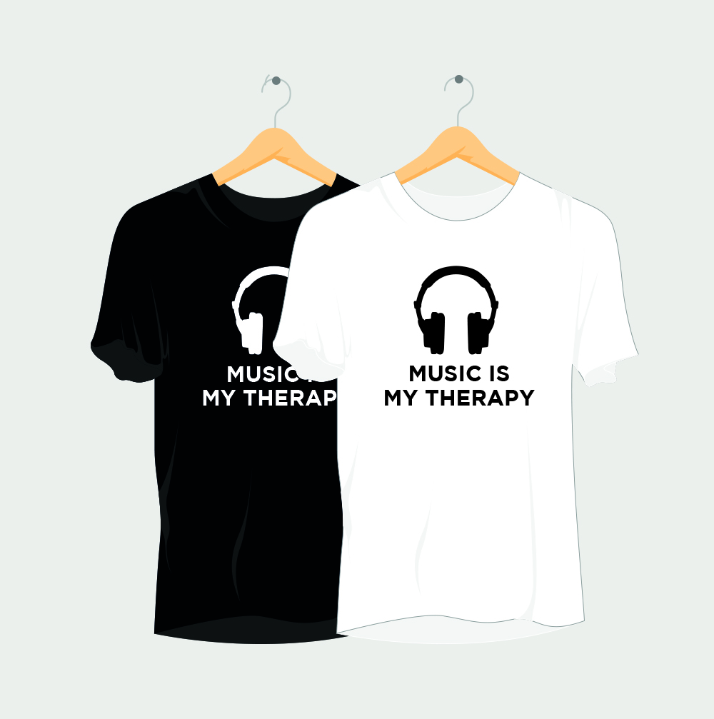 Music is my Therapy Rave T-Shirt