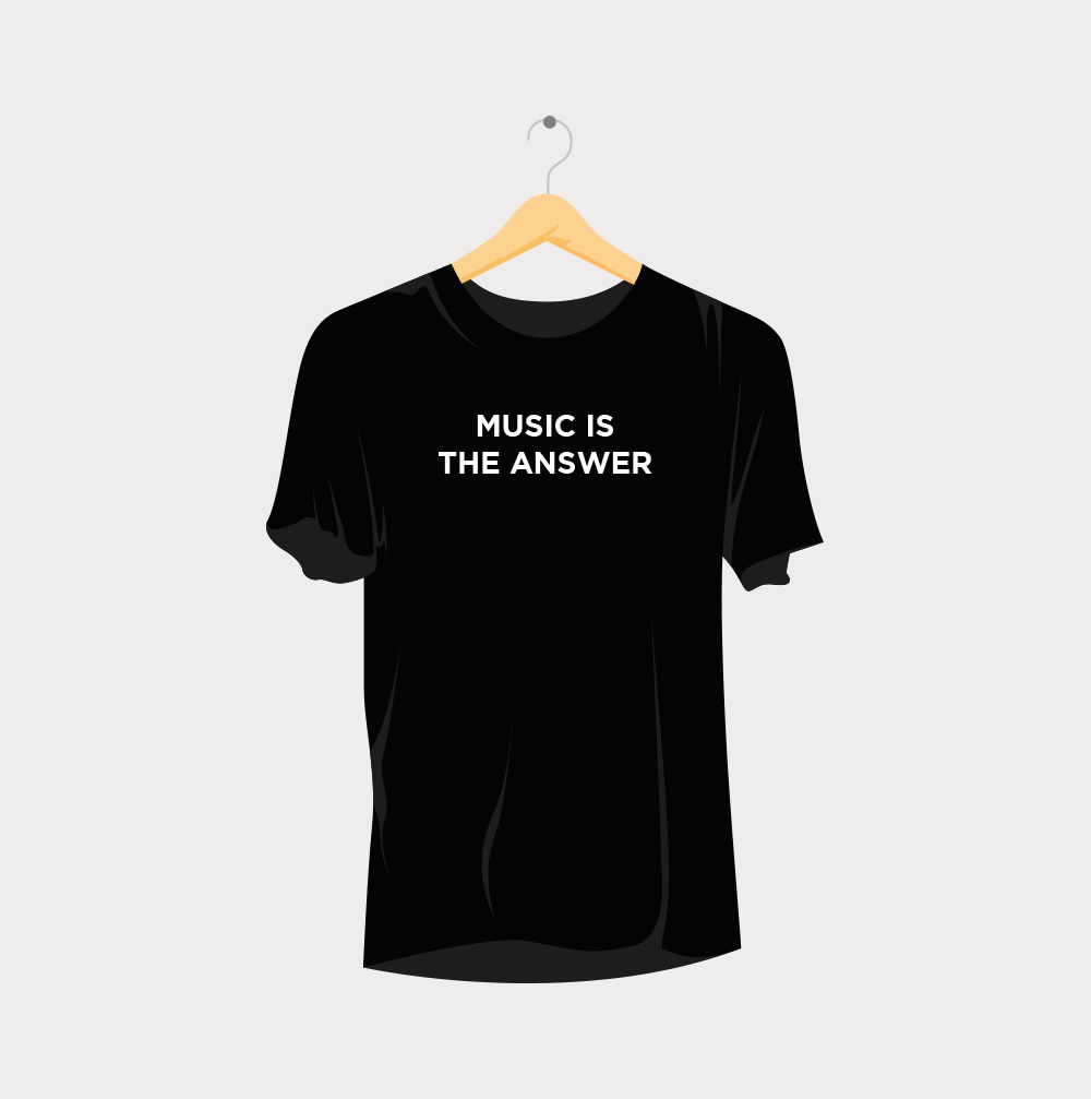 Music is the Answer Rave T-Shirt