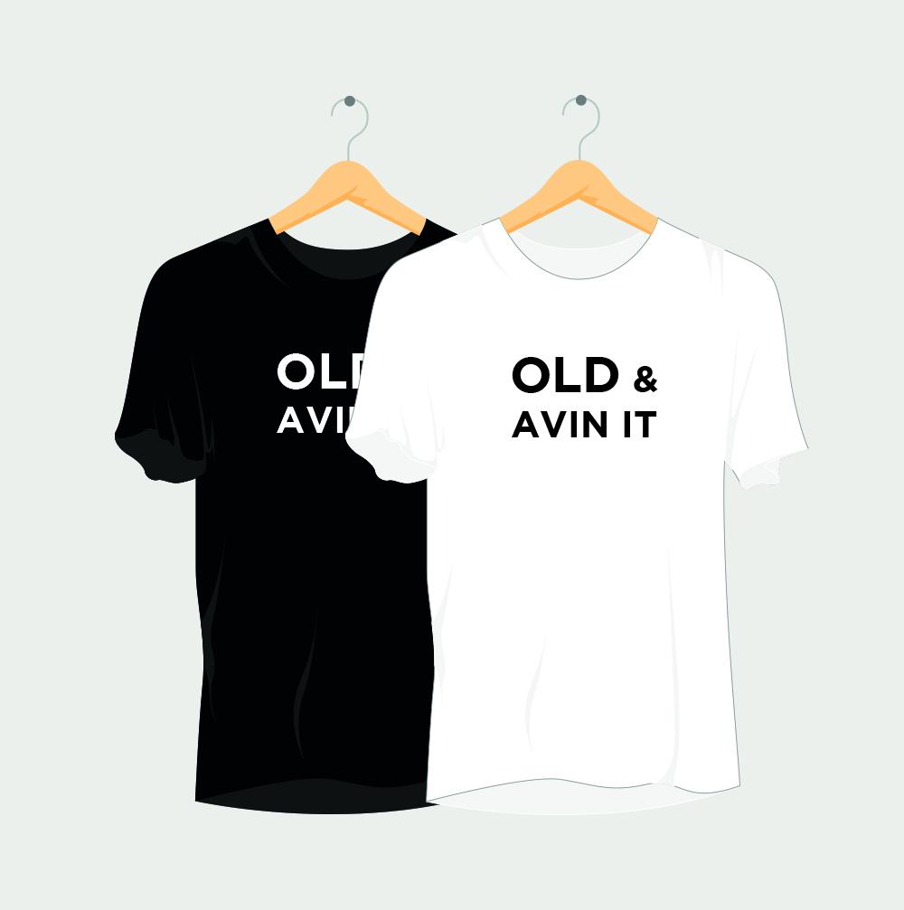 Old & avin it Rave T-Shirt