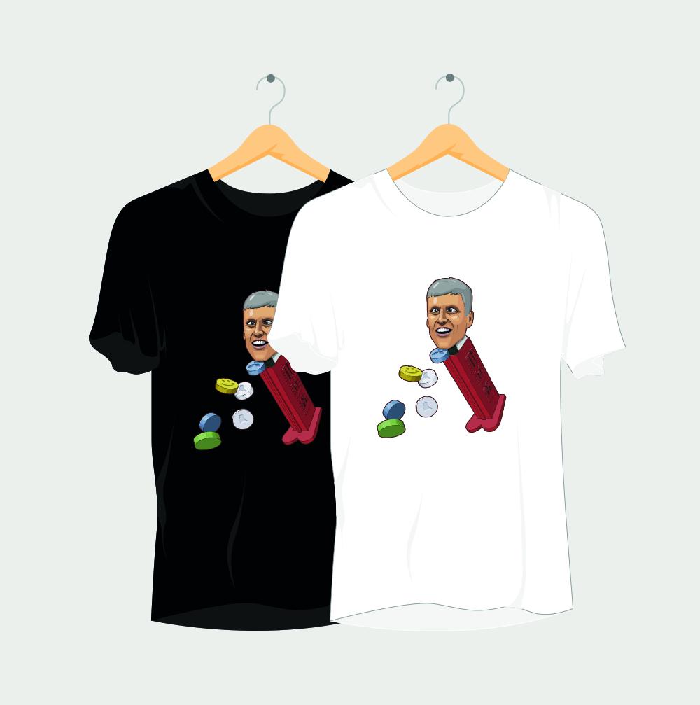 Pez Head Rave T-Shirt