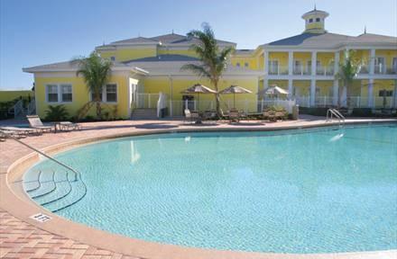 clubhouse pool at Bahama Bay Resort Orlando Florida
