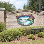 Entrance to our condo rental at Bahama Bay Resort & Spa Orlando Florida