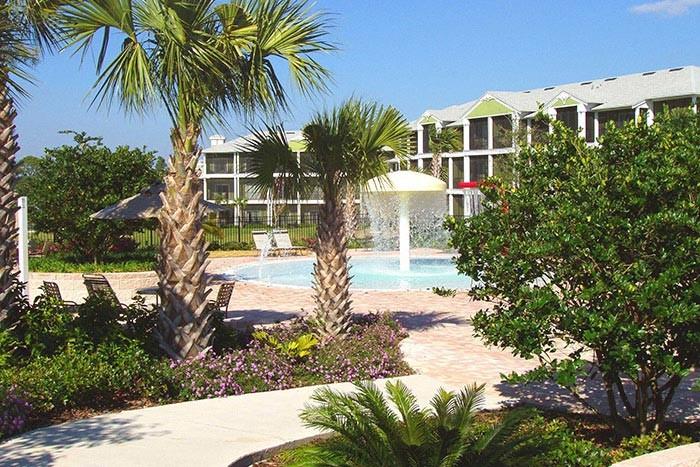 Kiddy splash pool at Bahama Bay Resort & Spa Orlando Florida