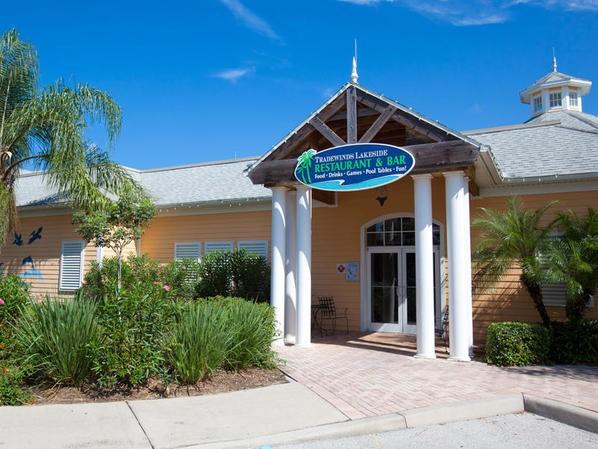 Tradewinds restaurant entrance at Bahama Bay Resort Orlando Florida
