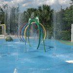 Kiddy splash pad at Bahama Bay Resort & Spa Orlando Florida