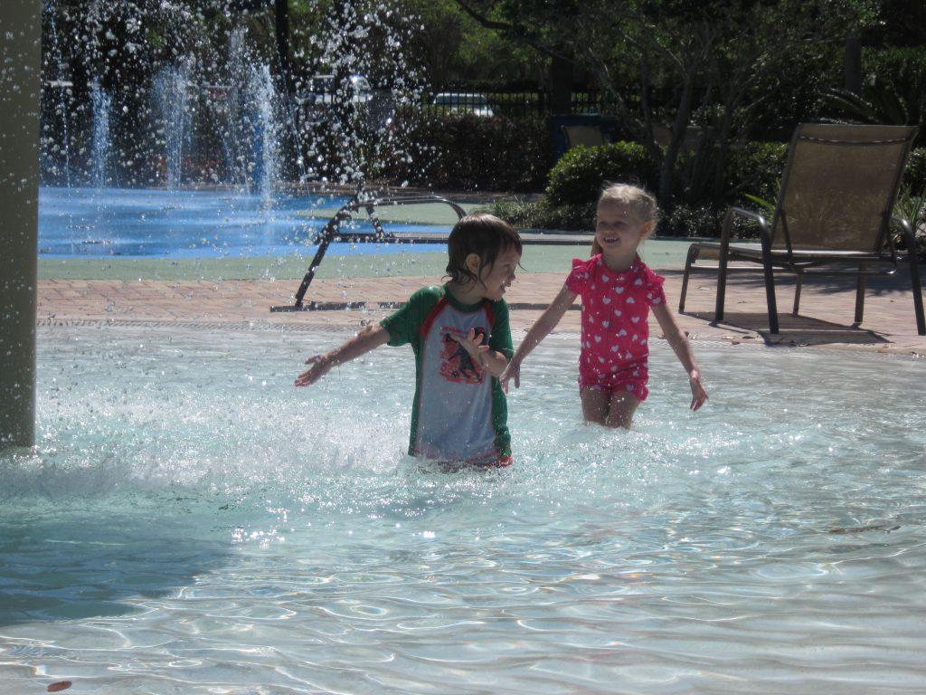 Bahama Bay Resort Kids Splash Pool