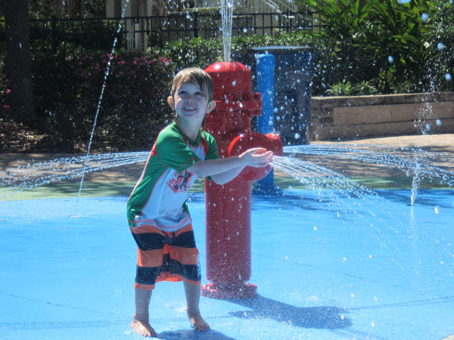 Bahama Bay Resort Kids Splash Pad
