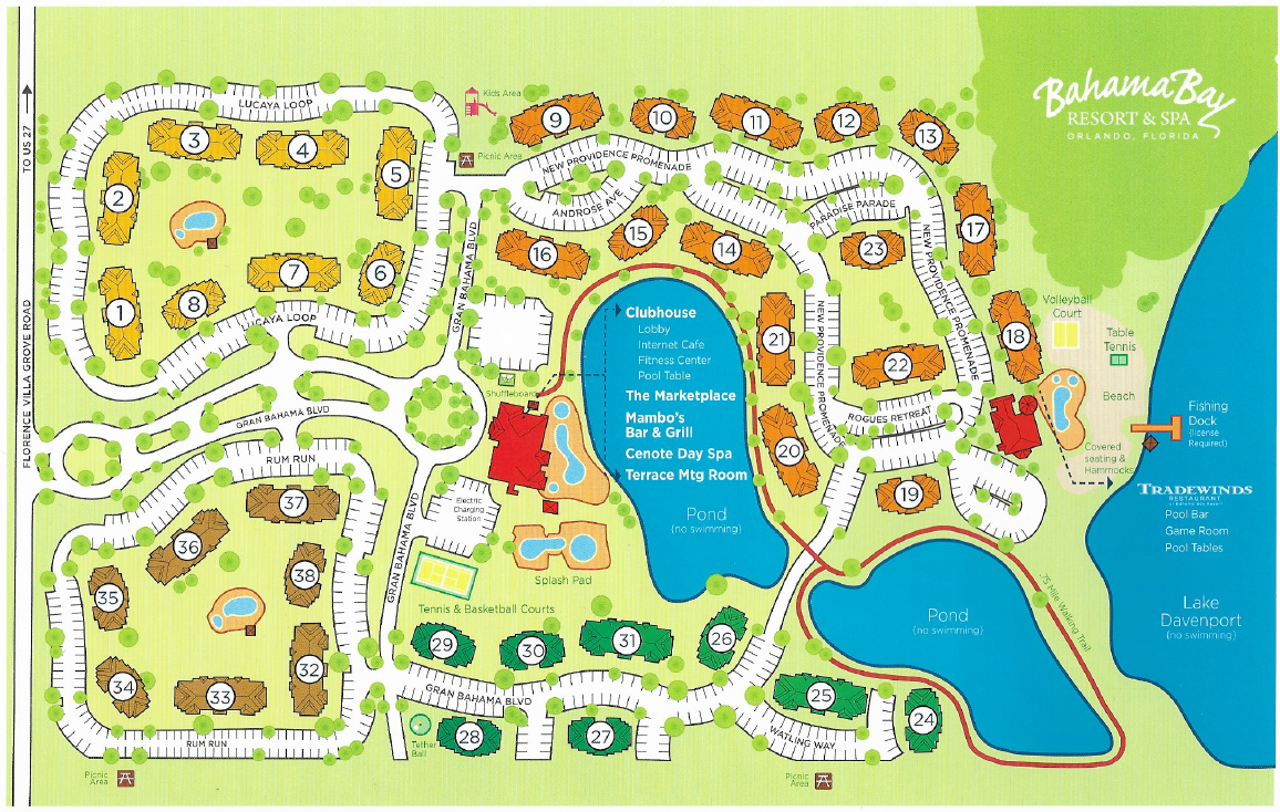 bahama bay resort map Map Of Bahama Bay Resort And Spa Orlando Florida Disney Florida bahama bay resort map