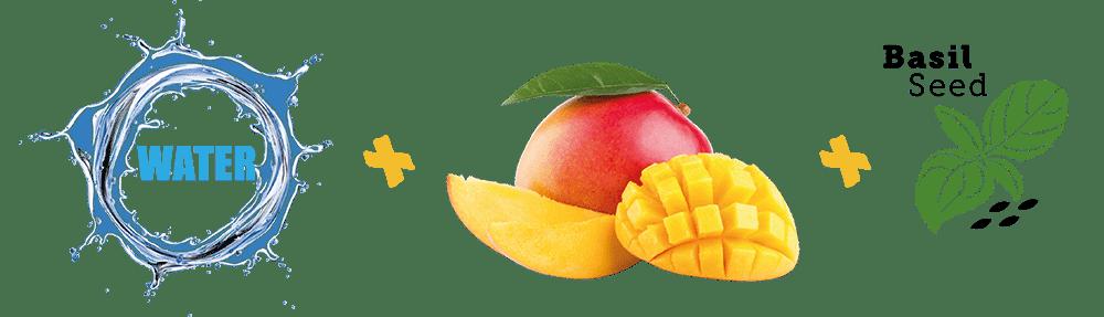 ingrediënten mango