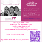 YLP Milan Workshop flier