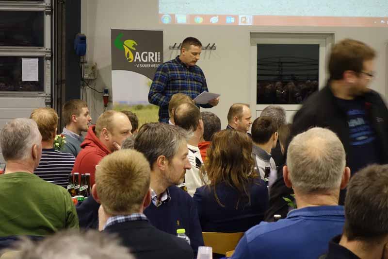 Jørgen Sørensen fra Vest Himmerlands Maskinstation fortalte om maskininvesteringer til sæson 2016