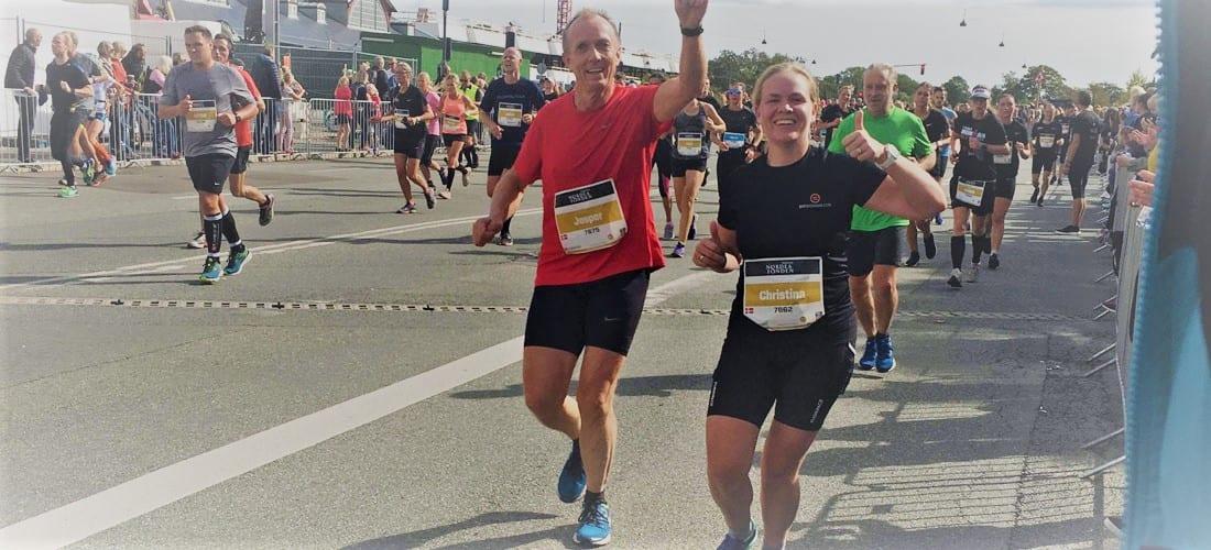 Dit Regnskab til halvmarathon