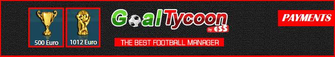 1° - 8° pagamento Goaltycoon