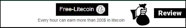 Free-litecoin: guadagna Litecoin ogni ora | Recensione