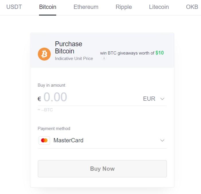acquista bitcoin
