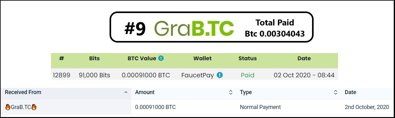 grabtc pagamento