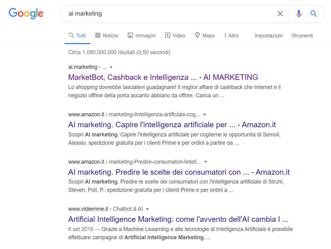 ai marketing google