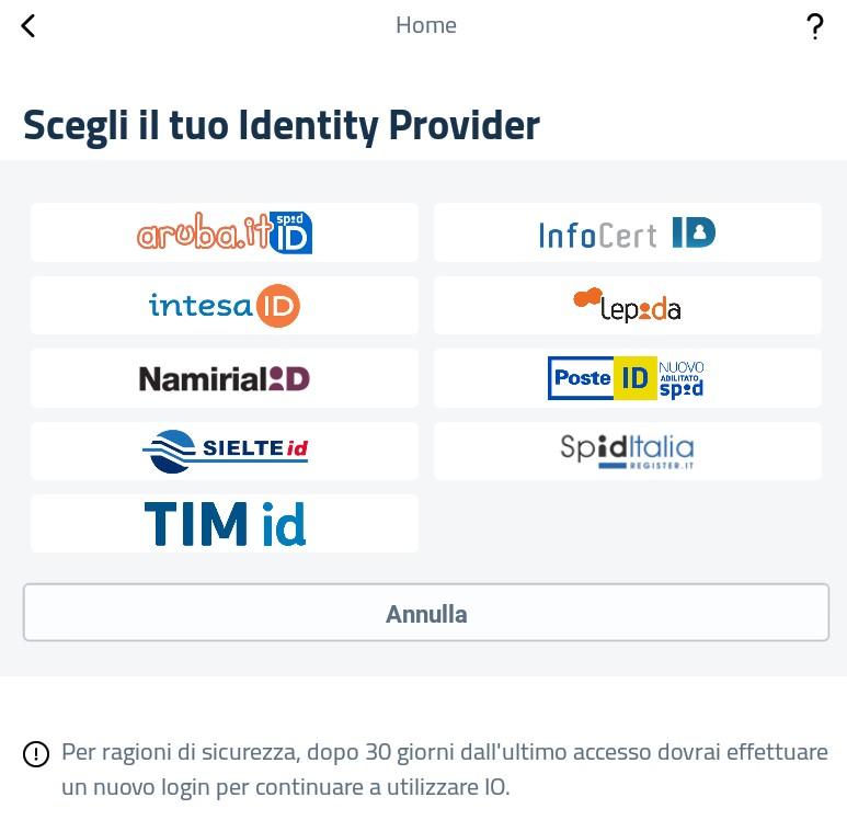 Idendità Digital SPID