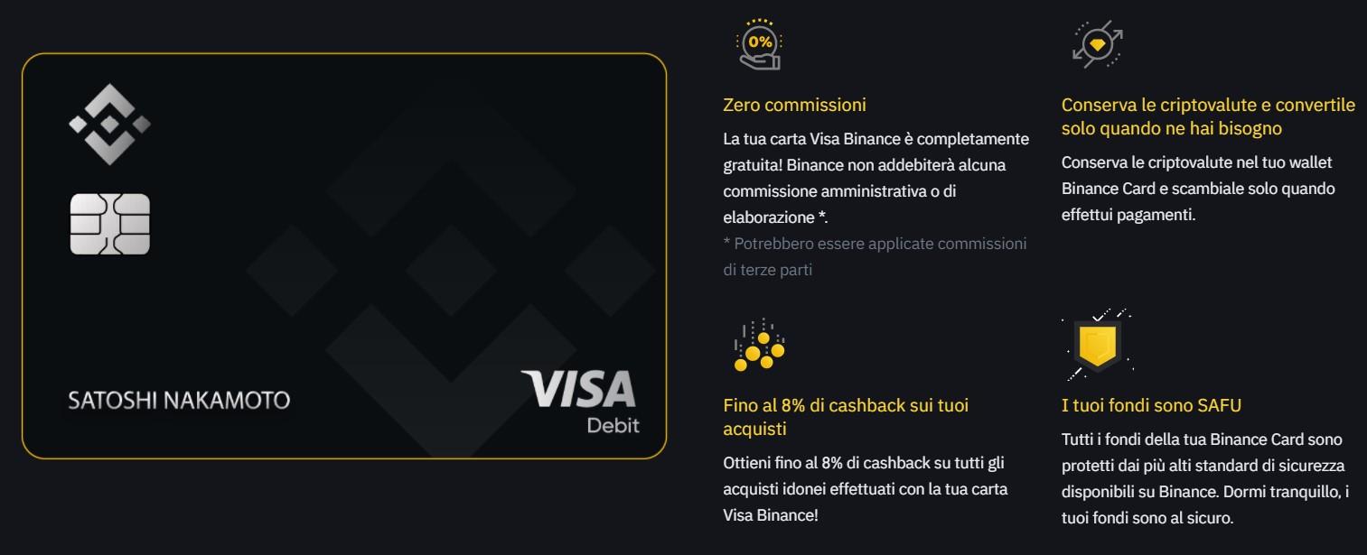 visa card di binance