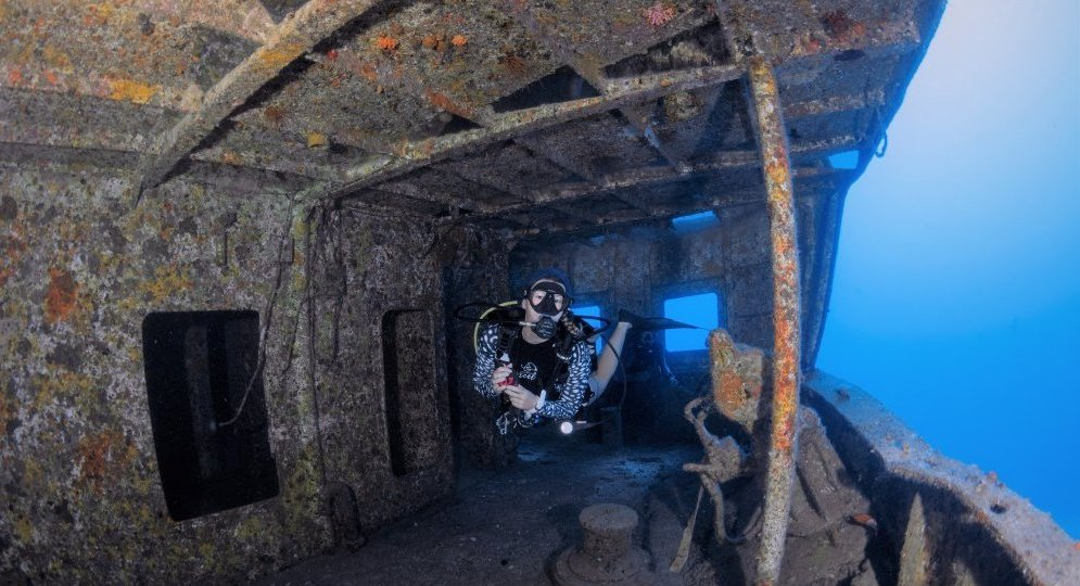Shipwrecks in Mauritius Blog post SeaUrchin Diving Center