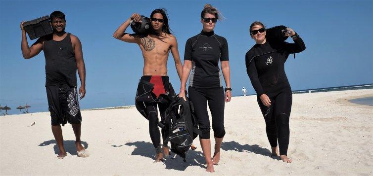 Velkommen til vores dykkerskole