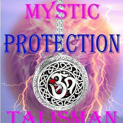 Mystic Protection Talisman (OM Design)