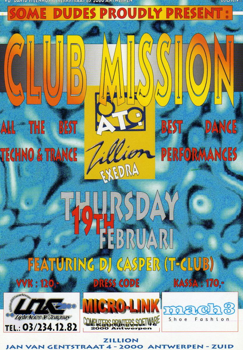 ClubMission@Zillion19.02.1998
