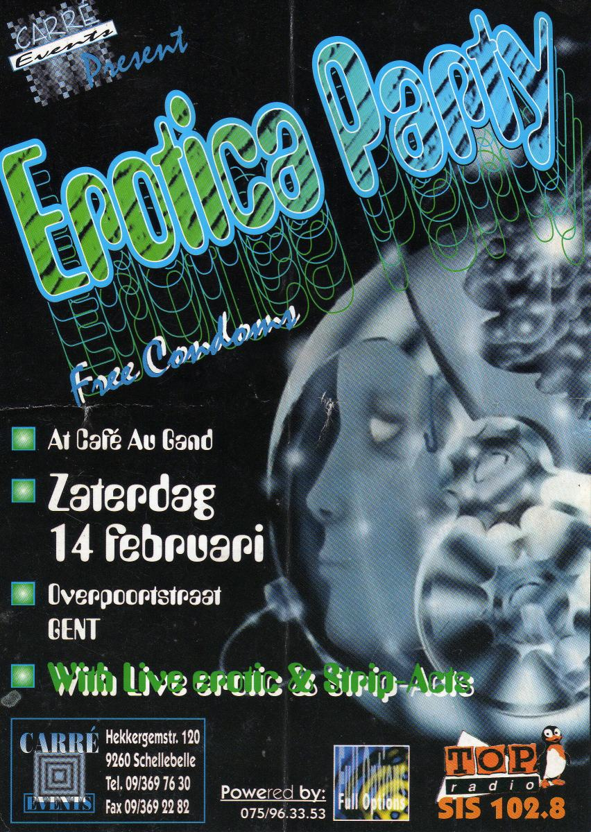 EroticaParty@CafeauGand14.02.1998