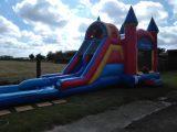 Bounce 'N' Double Dip Castle Wet