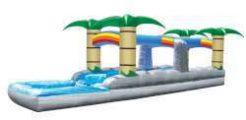 Tropical run N Slide with pool