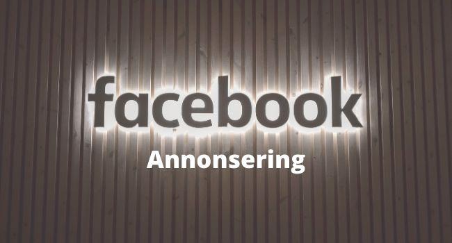 Facebook annonsering komplett guide