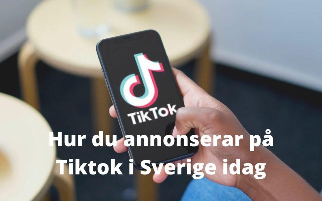 Annonsering på Tiktok – Hur annonserar man på tiktok